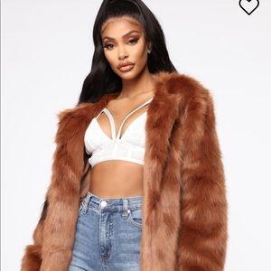 Fashionova fur jacket! Brand new with tags